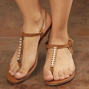 Sandalia plana | Calzado Espia | Fabricante de Zapatos y Bolsos para Mujer | Tienda Virtual | Colombia