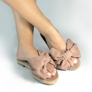 sandalia plana en color dorado.Zapatos Mujer. Calzado Espia, Fabricante de zapatos para Dama. Tienda virtual Colombia.
