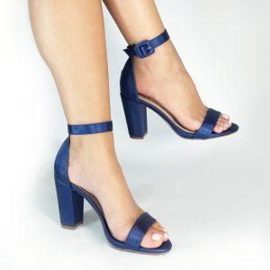 Tacones A1202 en colores negro, azul y melocotón.Zapatos Mujer. Calzado Espia, Fabricante de zapatos para Dama. Tienda virtual Colombia