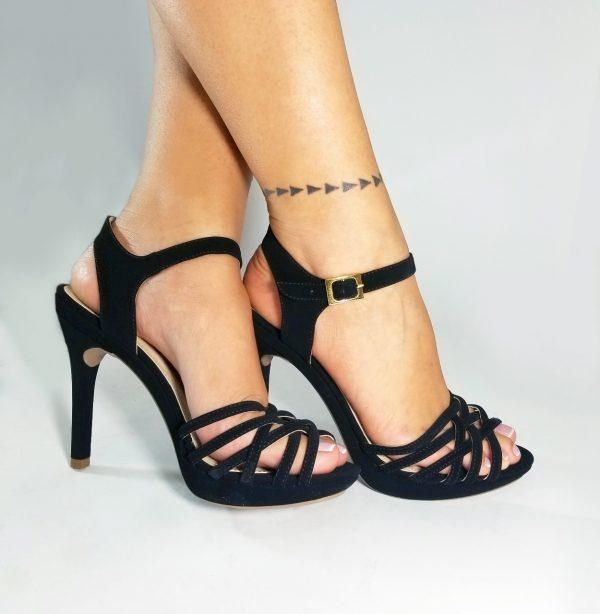 Zapatos tacones CK1175 en colores negro, miel y oro rosa.Zapatos Mujer. Calzado Espia, Fabricante de zapatos para Dama. Tienda virtual Colombia.