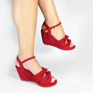 Zapato plataforma S770 en colores negro, rojo, miel y melocotón.Zapatos Mujer. Calzado Espia, Fabricante de zapatos para Dama. Tienda virtual Colombia