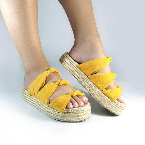 Plataforma spadrilla CC27 en colores negro, azul, miel y mostaza.Zapatos Mujer. Calzado Espia, Fabricante de zapatos para Dama. Tienda virtual Colombia
