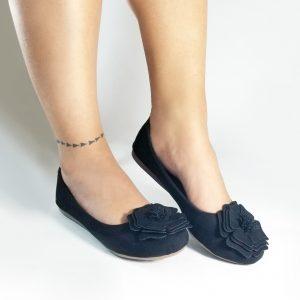 Zapatos baletas en color dorado.Zapatos Mujer. Calzado Espia, Fabricante de zapatos para Dama. Tienda virtual Colombia.