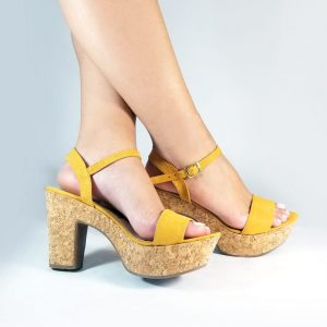 Zapatos Tacón alto 948U en colores negro, azul, miel y mostaza.Zapatos Mujer. Calzado Espia, Fabricante de zapatos para Dama. Tienda virtual Colombia