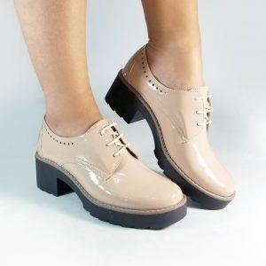 Botín mocasín VALT en color nude.Zapatos Mujer. Calzado Espia, Fabricante de zapatos para Mujer. Tienda virtual Colombia
