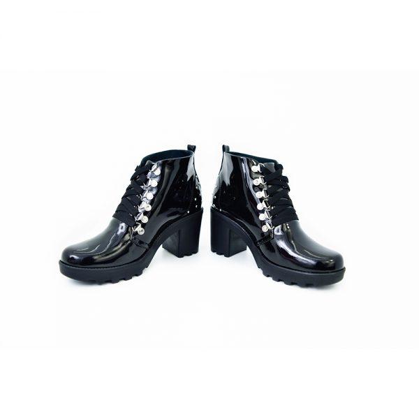 botas de dama color negro