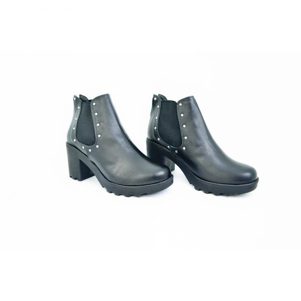 botas de mujer color negro