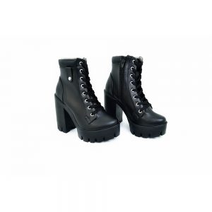 botas damas color negro
