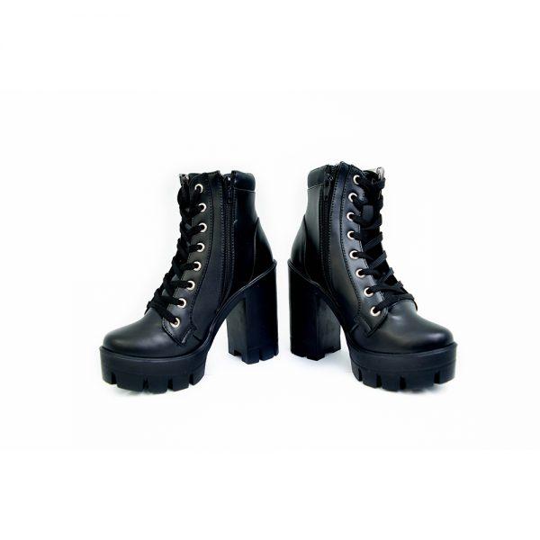 botas damas color negro