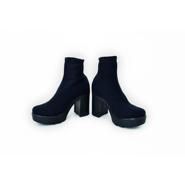 botas de dama color negro
