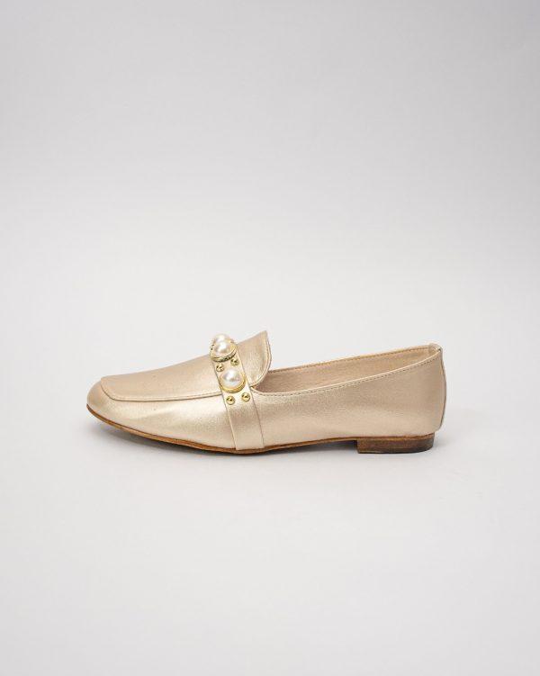 Baletas dama IS1763 en color champang