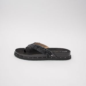 Sandalia dama SS700 en color negro