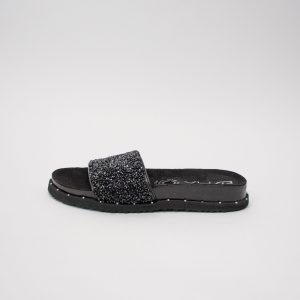 Sandalia dama SS701 en color negro