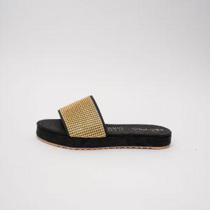 Sandalias dama S340 en color negro