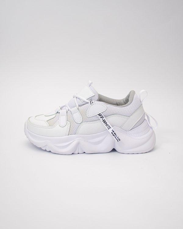 Tenis dama MS205 en color blanco