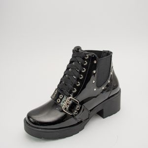 Bota dama CD 130 en color negro charol